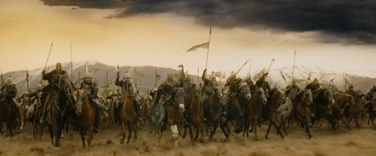 Charge of Rohirrim